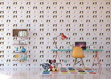 Amazon.de: AG Design WPD 9733 Disney Mickey Mouse, Vlies ...