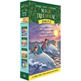 Magic Tree House Boxed Set, Books 9-12: Dolphins at Daybreak, Ghost Town at Sundown, Lions at Lunchtime, and Polar Bears Past