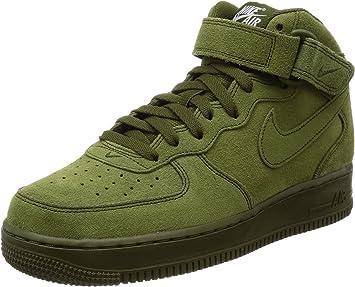 air force 1 medium verde hombre