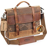 Deals on Vintage Canvas and Leather Messenger Bags