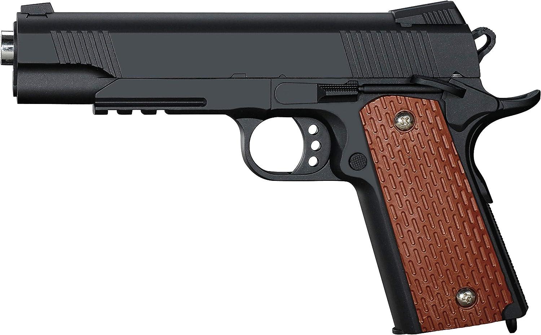 Pistola Airsoft Full Metal Rayline RV13 (presión de Resorte Manual), reproducción en Escala 1: 1, Longitud: 22,5 cm, Peso: 430 g (Menos de 0,5 Julios - a Partir de 14 años)