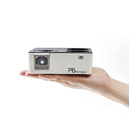 AAXA P6 Mini LED Projector New 2018 Model With Rechargeable Battery