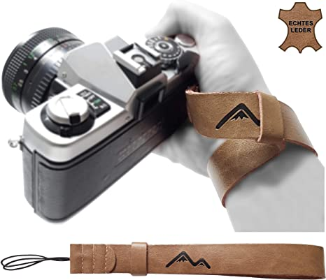 Correa de Piel para cámara réflex Digital compacta para Canon ...