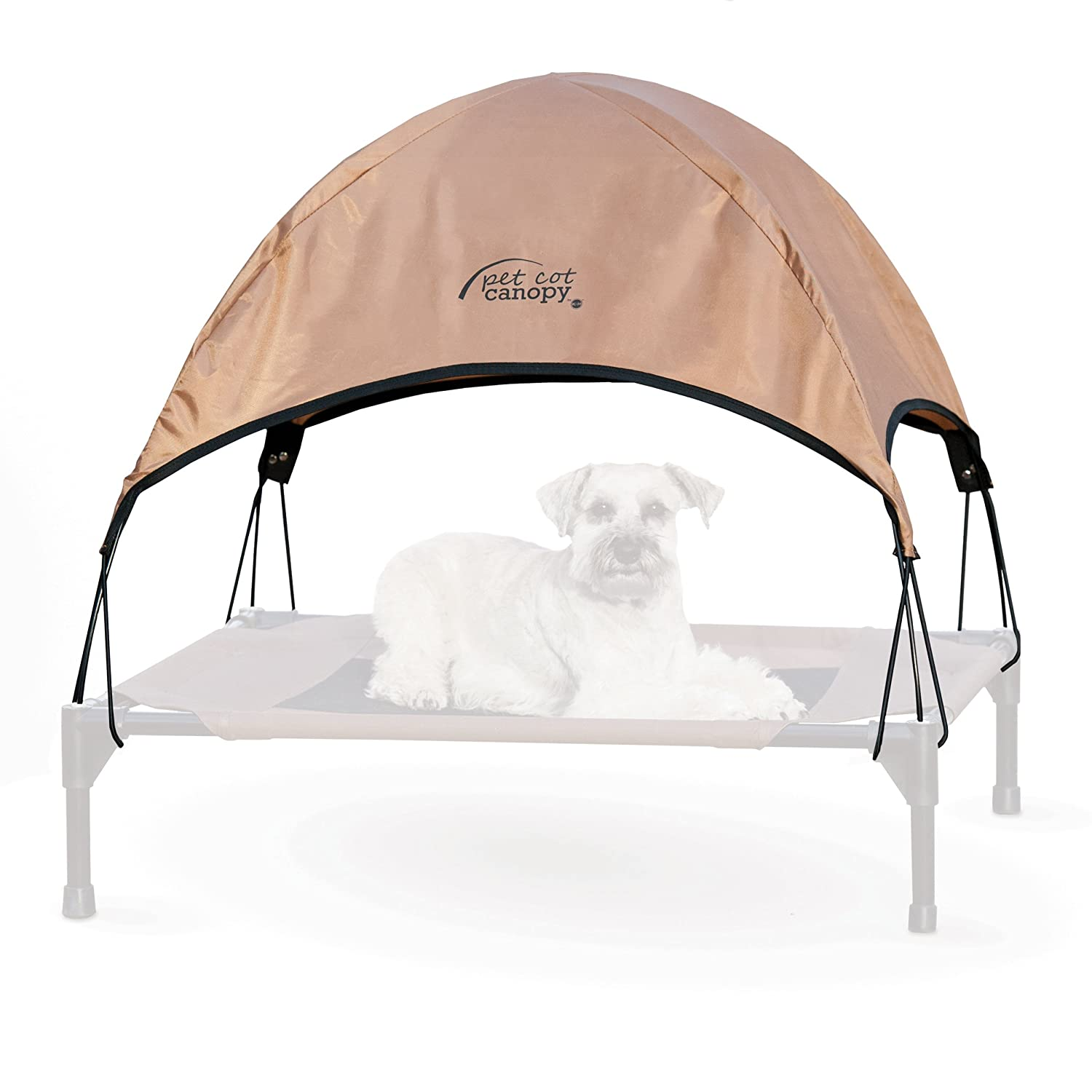 Amazon.com  Ku0026H Pet Products Pet Cot Canopy Medium Tan 25  x 32   Pet Supplies  sc 1 st  Amazon.com & Amazon.com : Ku0026H Pet Products Pet Cot Canopy Medium Tan 25