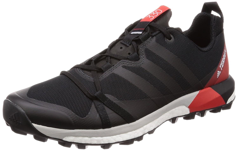 Adidas Terrex Agravic, Zapatillas de Trail Running para Hombre 42 2/3 EU|Negro (Negbas/Carbon/Roalre 000)