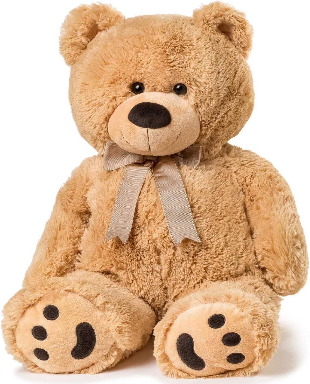 "Amazon.com: Big Teddy Bear 30"" - Tan: Toys & Games"
