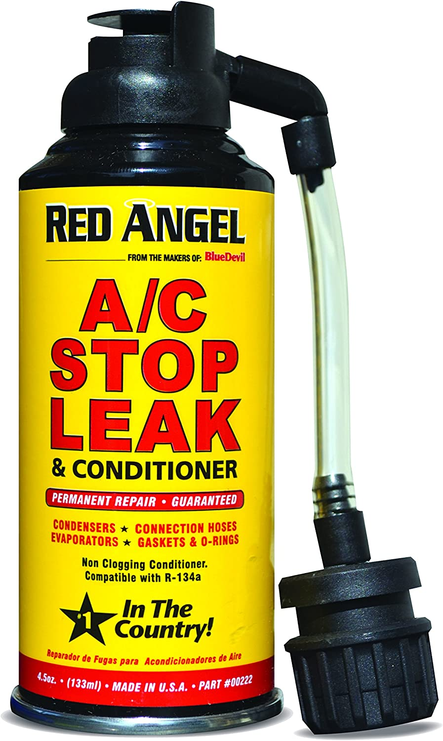 Red Angel A/C Stop Leak & Conditioner