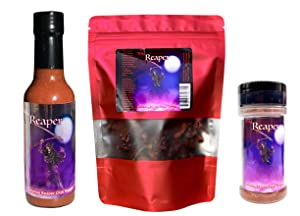 Ultimate Reaper Hot Sauce Gift Set Hot Spice Gift Pack Wicked Reaper
