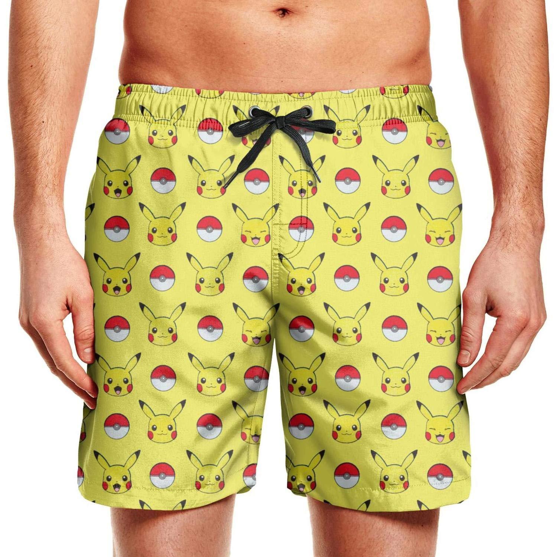 Mens Game Symbol Swim Trunks Holiday Beach Shorts Slim Fit Board Shorts