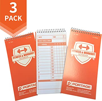 Amazon.com: Portage cuaderno de buena forma y entrenamiento ...