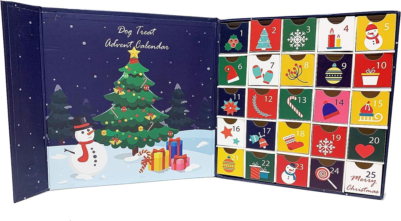 Midlee Christmas Advent Treat Box