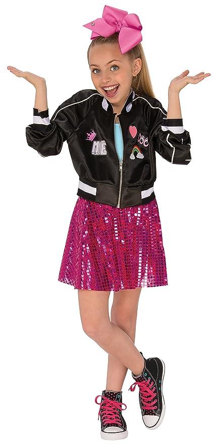Rubies 640554L Jojo Siwa Bomber - Vestido para niña (talla L)