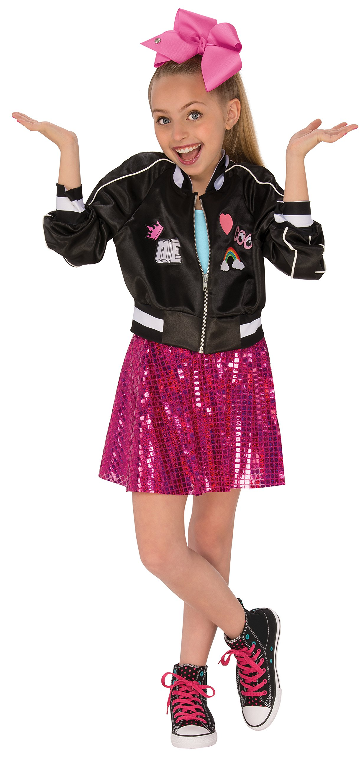 Rubie's Costume Co Jojo Siwa Costume Jacket, Multicolor, Medium