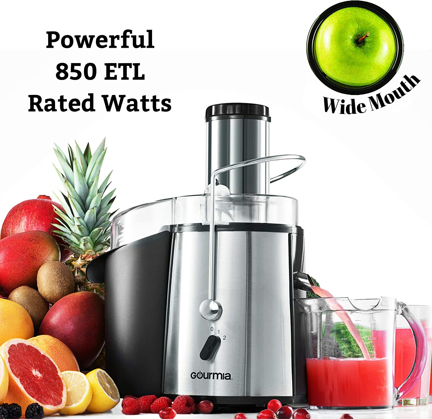 Wide Mouth Centrifugal Juicer Extractor