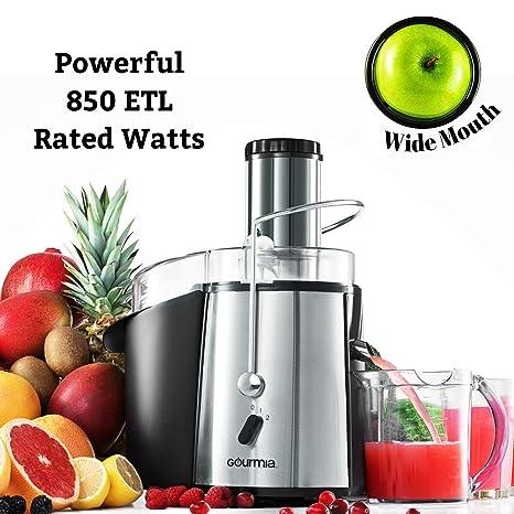 Amazon.com: Gourmia GJ750 Extractor de zumo de frutas ...