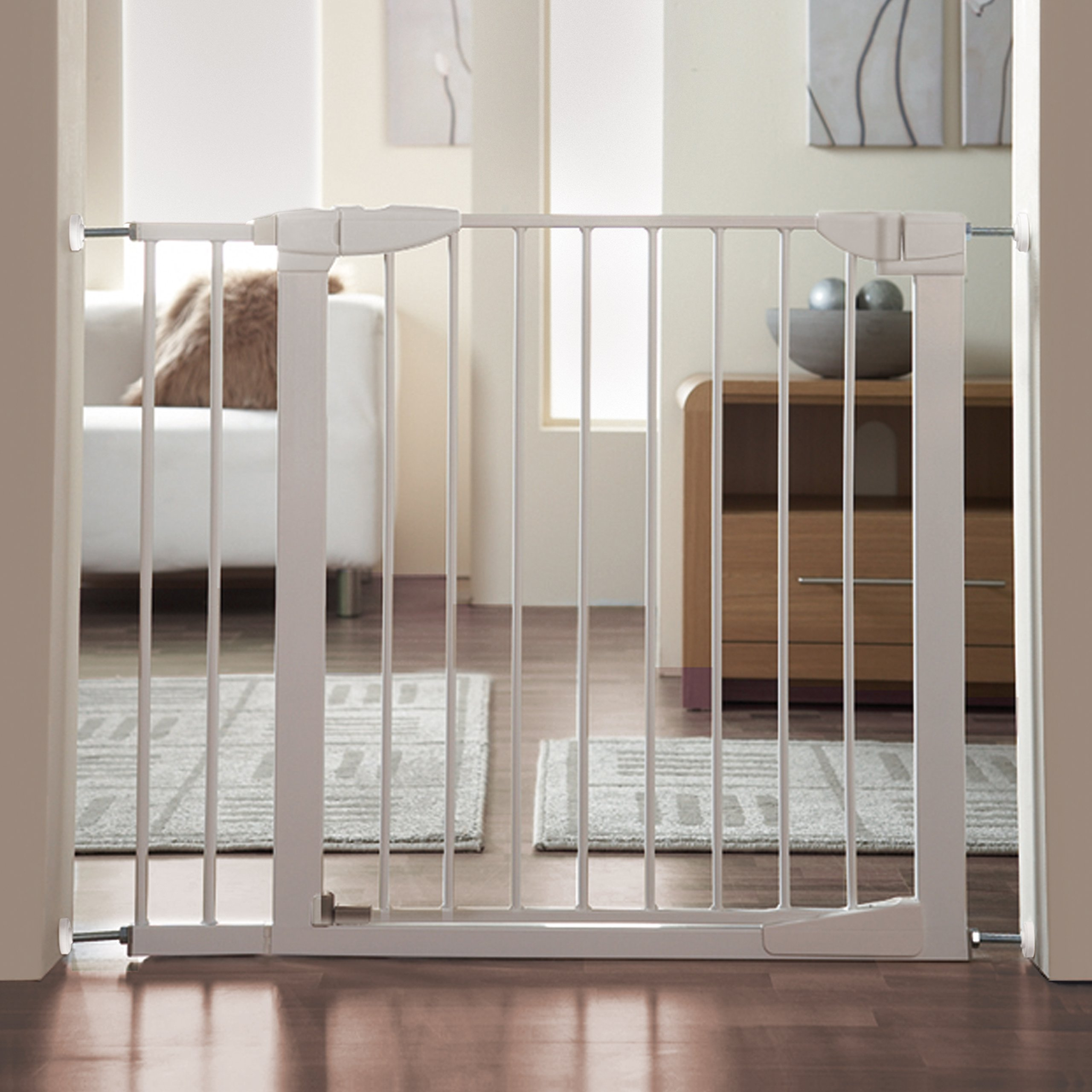 Munchkin Baby Gate Extension White 5 5 692756855791 Ebay