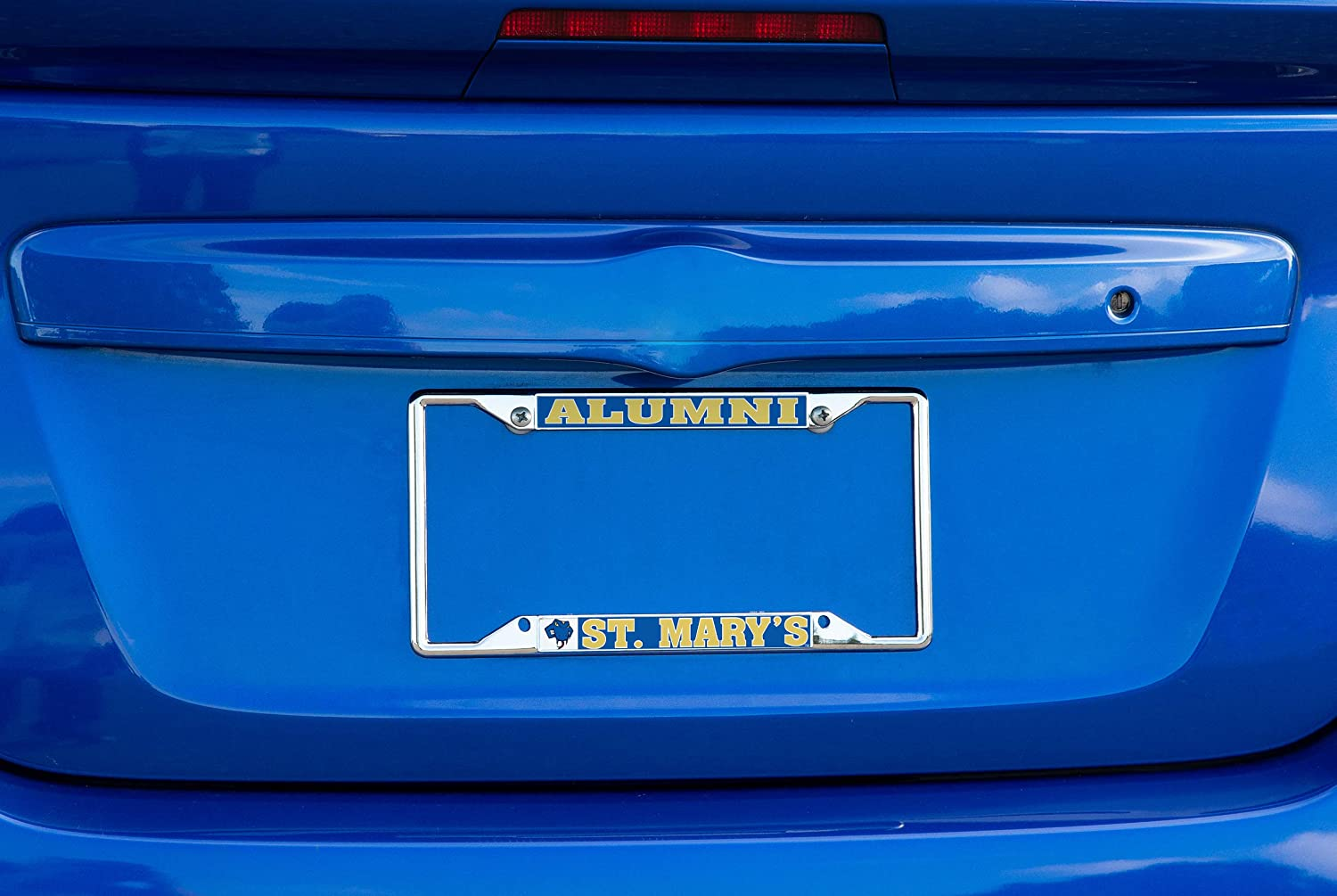 TX Texas Rattlers NCAA Metal License Plate Frame for Front Back of Car Officially Licensed Alumni Marys University Desert Cactus St
