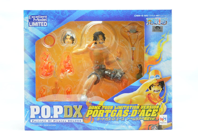 One Piece LIMITED Portgas D. Ace Dome Tour Limitation Vers. Portrait of Pirates POP P.O.P. (japan import)