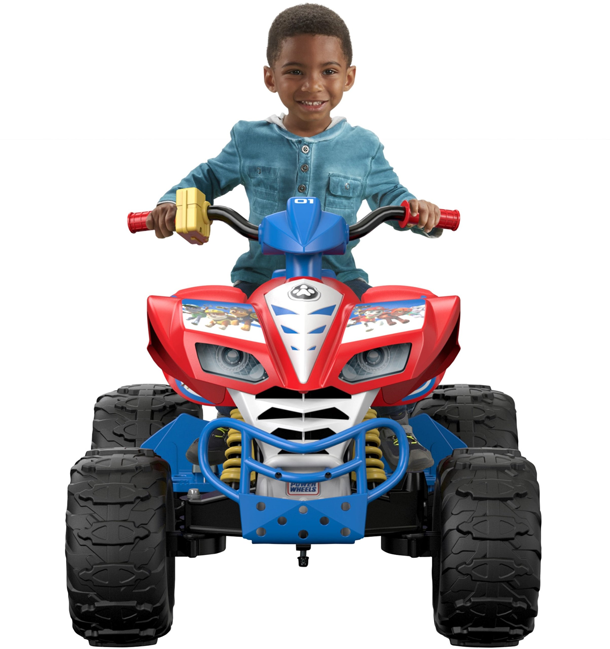Power Wheels Nickelodeon PAW Patrol, Kawasaki KFX by Fisher-Price