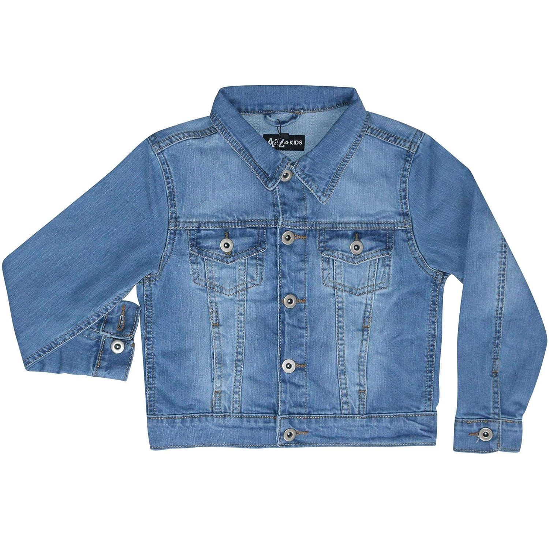 9e29229efa7c Kids Girls Jackets Designer Denim Style Fashion Blue Jeans Jacket ...