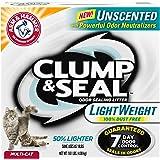 Arm & Hammer Clump & Seal Lightweight Unscented Clumping Cat Litter, 9 lbs.