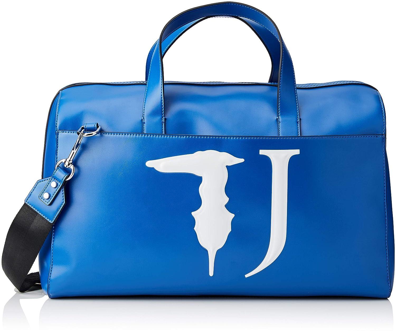 トラサルディジーンズT-イージートラベル46モノカラー、レディース、ブルー(ブルー)、46 x 29 x 22 cm(W x HL) B07KTCM1WJ
