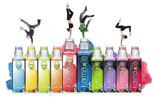 Karma Wellness Flavored Vitamin Water, Pineapple Coconut, 18 Fl Oz ...