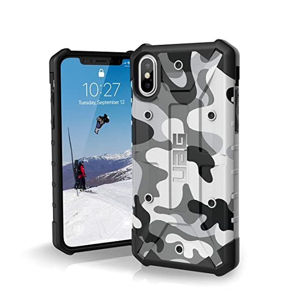 huge selection of 89c03 ca47c URBAN ARMOR GEAR UAG iPhone Xs/X [5.8-inch Screen] Pathfinder SE Camo  Feather-Light Rugged [Arctic] Military Drop Tested iPhone Case