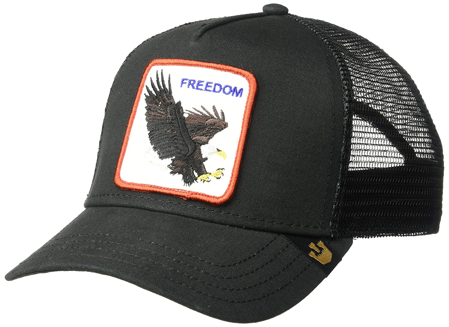 c781d35e Goorin Bros. Mens Animal Farm Snap Back Trucker Hat Baseball Cap - Black - One  Size: Amazon.com.au: Fashion