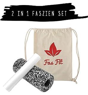Faszien Fitness Sets (Color/dureza Elegir): 2 x Fascia Rollo (+