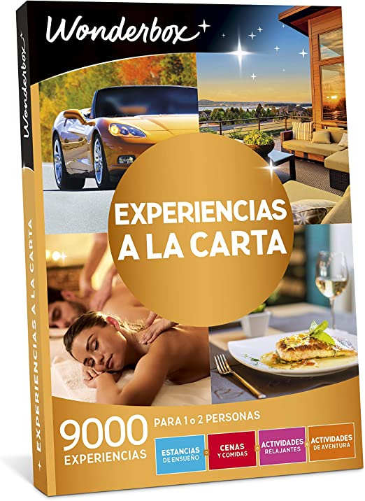 WONDERBOX - Regalo Original -EXPERIENCIAS A LA Carta- 9.000 ...