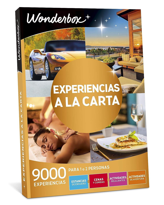 WONDERBOX Caja Regalo -EXPERIENCIAS A LA Carta- 9.000 experiencias para Dos Personas