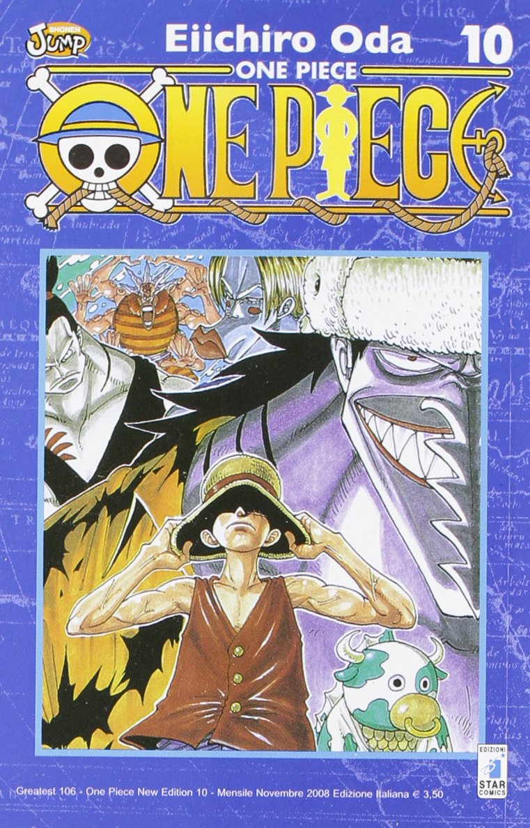 One piece. New edition: 10 Copertina flessibile – 20 nov 2008 Eiichiro Oda E. Martini Star Comics 8864201963