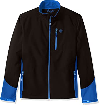 Wrangler Mens Water Repellent Trail Jacket