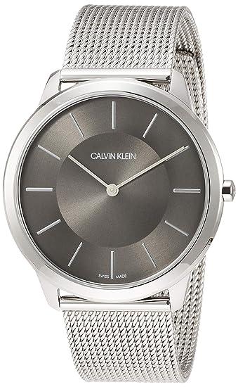 Correa Reloj Analógico Para De Hombre Cuarzo Calvin Klein Con POXikZTu