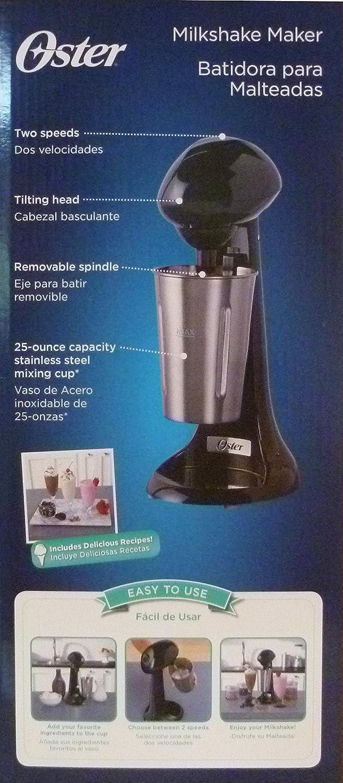 Amazon.com: Oster Milkshake Maker, Black: Kitchen & Dining