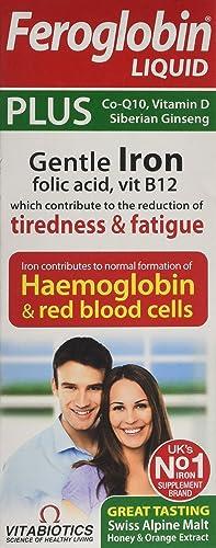 Vitabiotics Feroglobin Plus Liquid - 200 ml