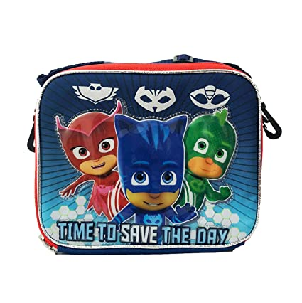 Boys Disney Junior Pj Masks Back to School! Lunch Bag/Box