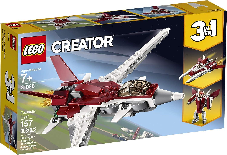 LEGO Creator 3in1 Futuristic Flyer 31086 Building Kit 157 Piece New 2019