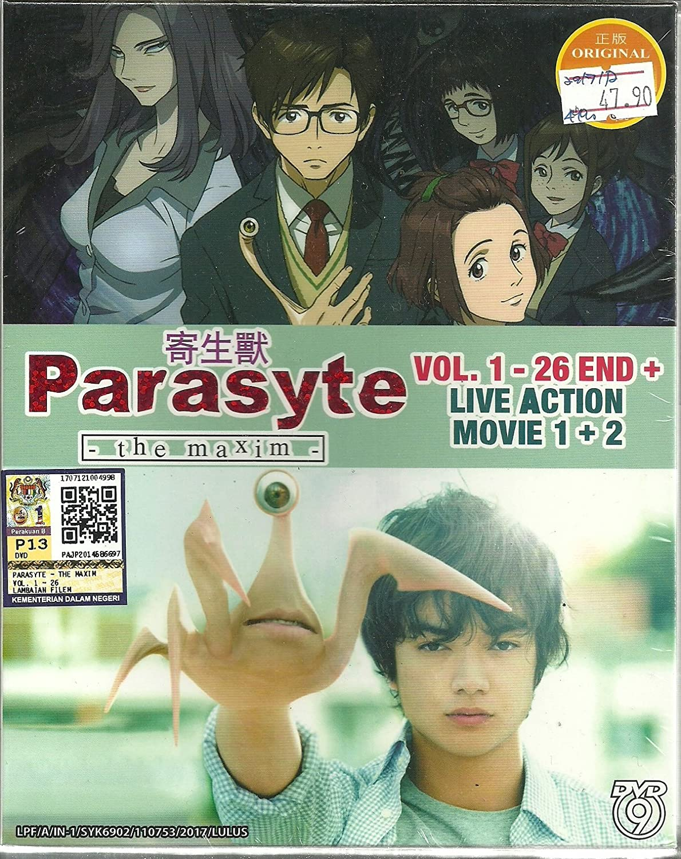 Amazon Com Parasyte The Maxim Live Action Complete Anime Tv Series Dvd Box Set 26 Episodes Live Action Movie Movies Tv