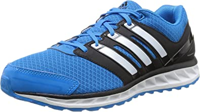 Adidas Falcon Elite 3 m - Zapatillas de running para hombre, color azul / negro, talla 40: Amazon.es: Zapatos y complementos
