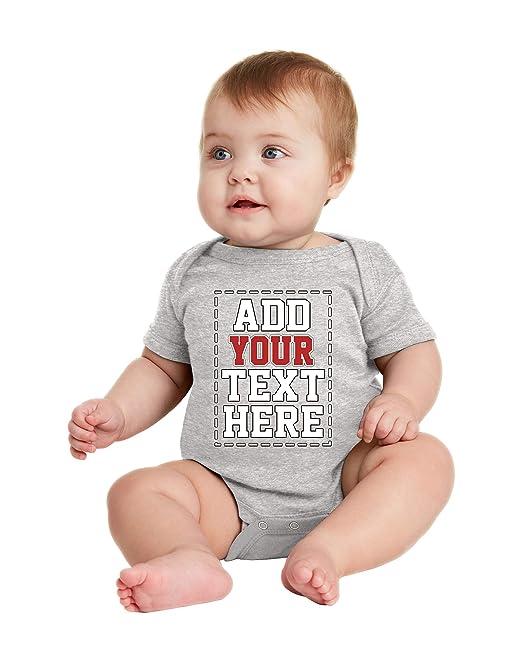 bfc5b15df Amazon.com  Design Your OWN Onesie - Custom Baby Onesies ...