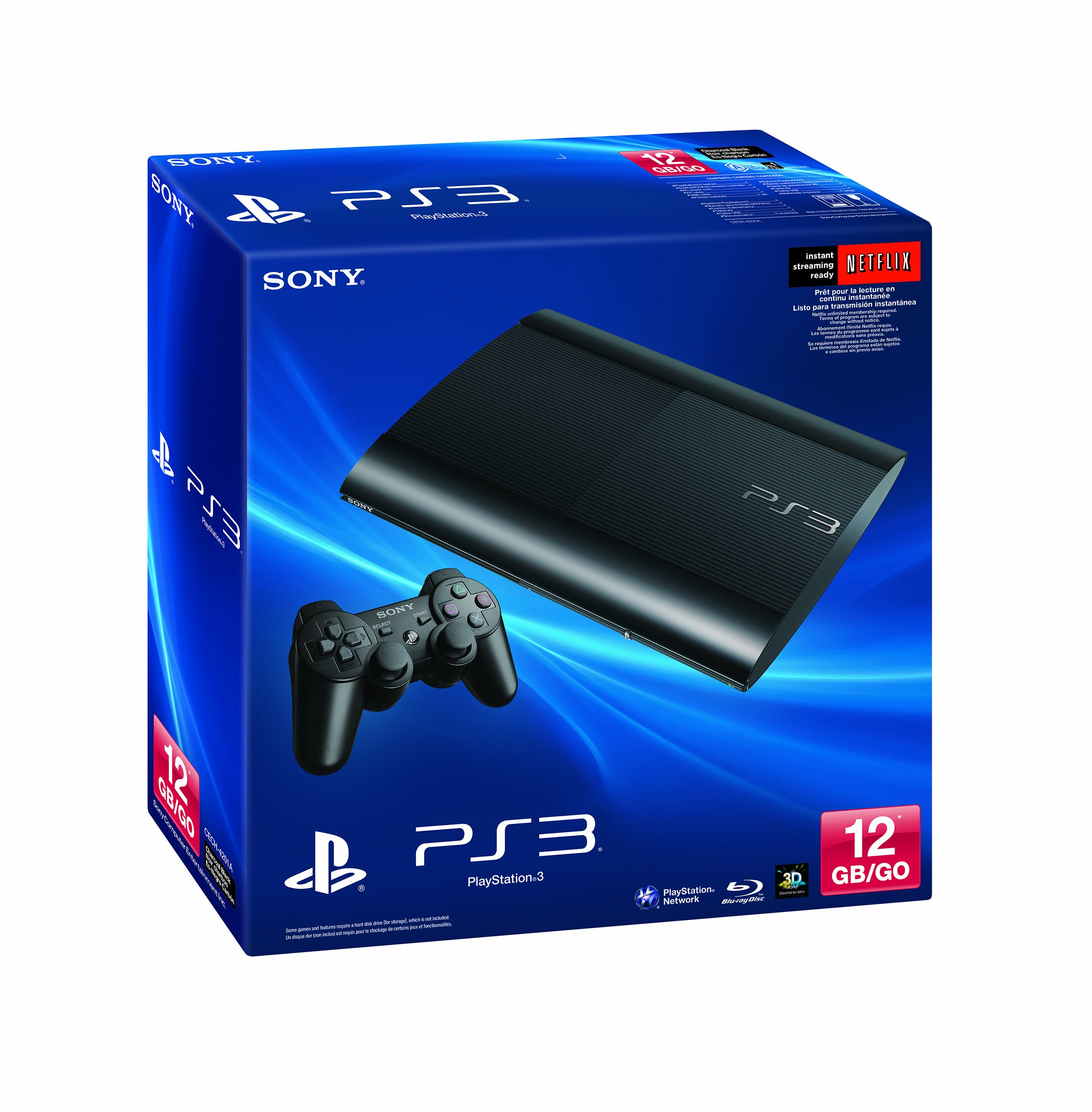 Sony Computer Entertainment Playstation 3 12GB System by Sony (Image #4)