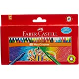 Faber-Castell Wax Crayons - 48 Shades
