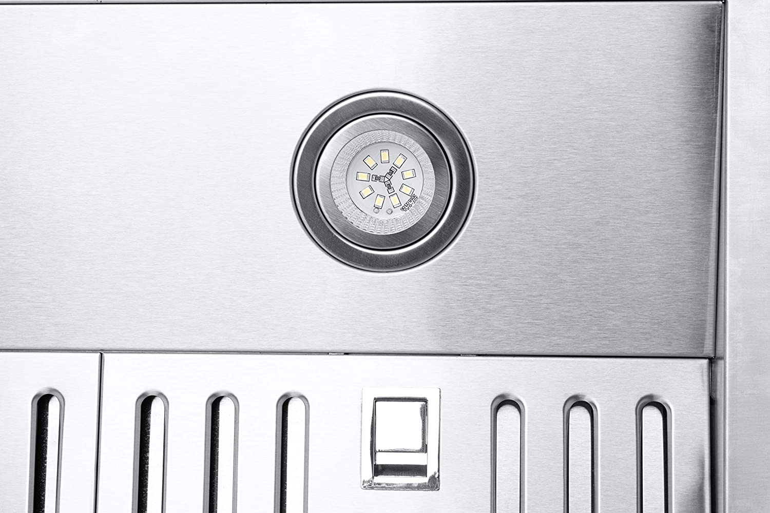 """Chef Range Hood PS10 30/"""" Pro Performance Under Cabinet Kitchen Extractor Stainless Steel Electric Stove Ventilator 3 Speed 900 CFM Exhaust Fan with Bright LED Lights /& Delay Auto Shut-Off"""