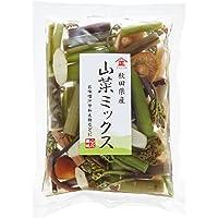 タチバナ食品 国産山菜ミックス水煮(7種) 1パック 100g