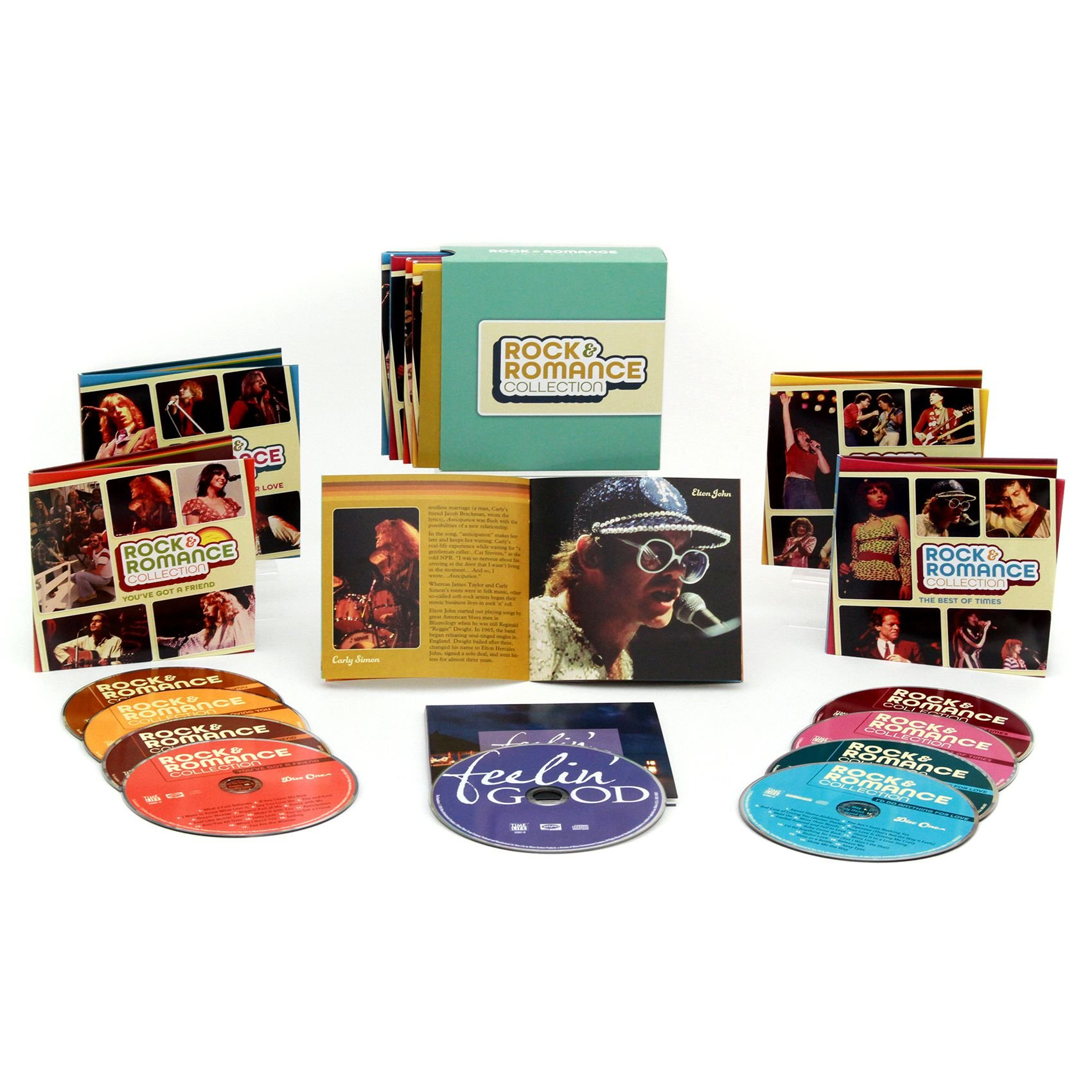 Rock & Romance Collection - 154 Songs on 9 CDs