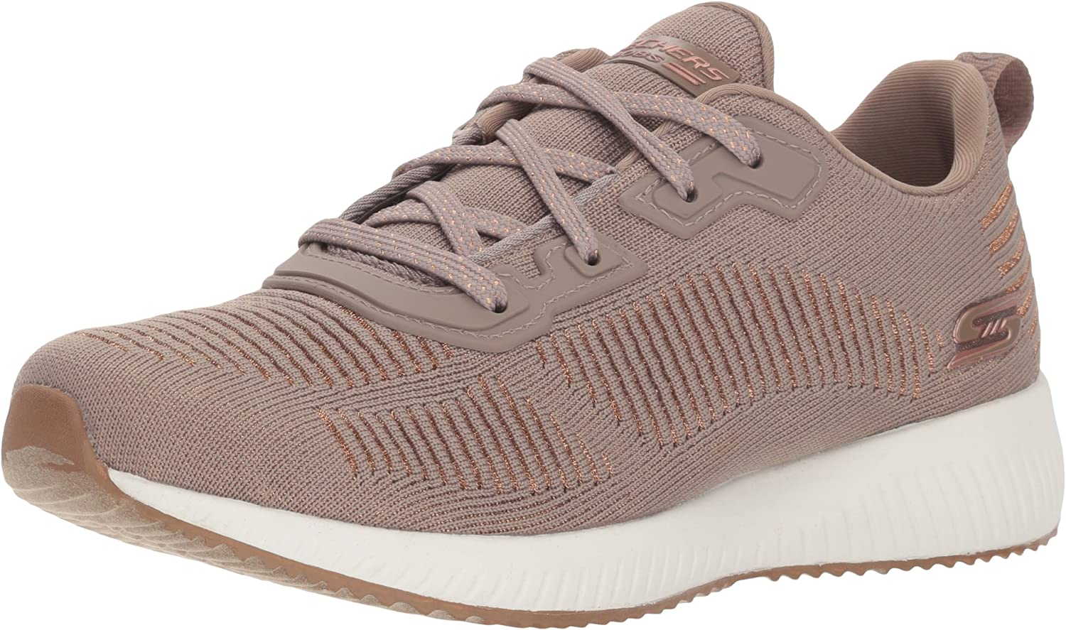 Skechers Bobs Squad-Glam League, Zapatillas para Mujer