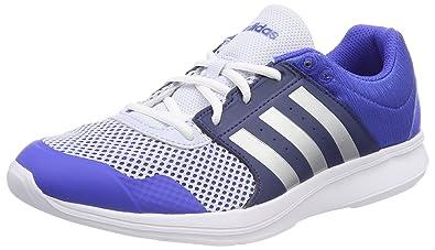 adidas Damen Essential Fun II Gymnastikschuhe, Blau (Hi-Res Blue S18/Silver Met./Noble Indigo S18 Hi-Res Blue S18/Silver Met./Noble Indigo S18), 38 2/3 EU