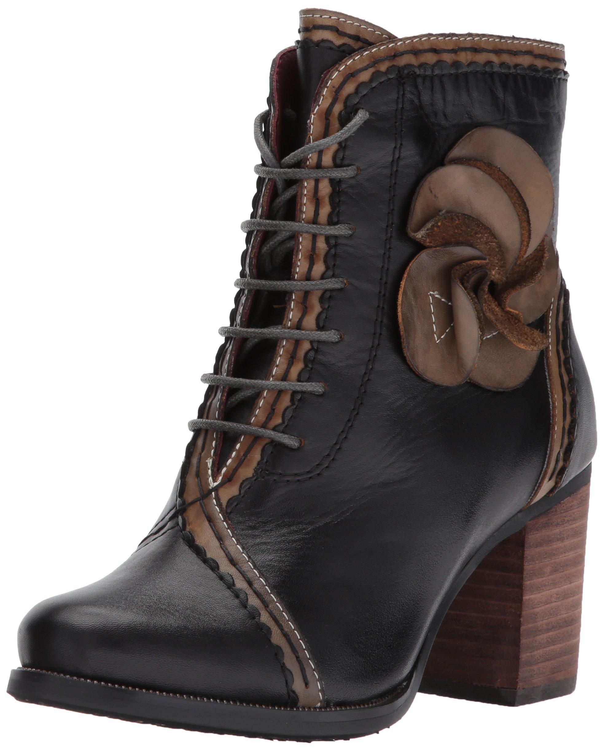 L'Artiste by Spring Step Women's Chrisanne Boot, Black, 40 EU/9 M US